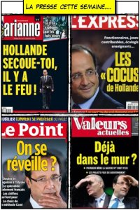 hollande ca va mal