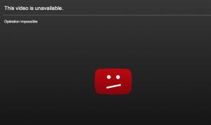 Censure video