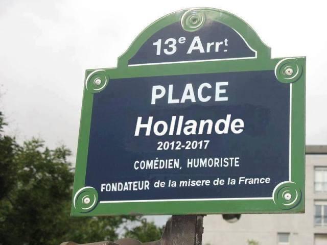 Hollande la misère
