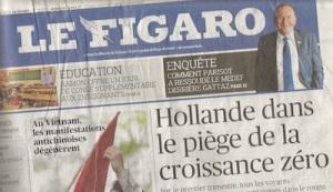 Figaro titre 16 mai 14