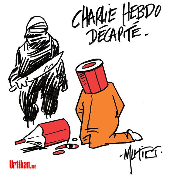 a charlie decapite