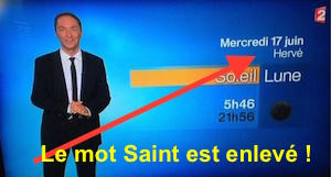 fin des saints