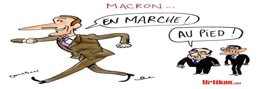 Macron par Cambon URTIKAN