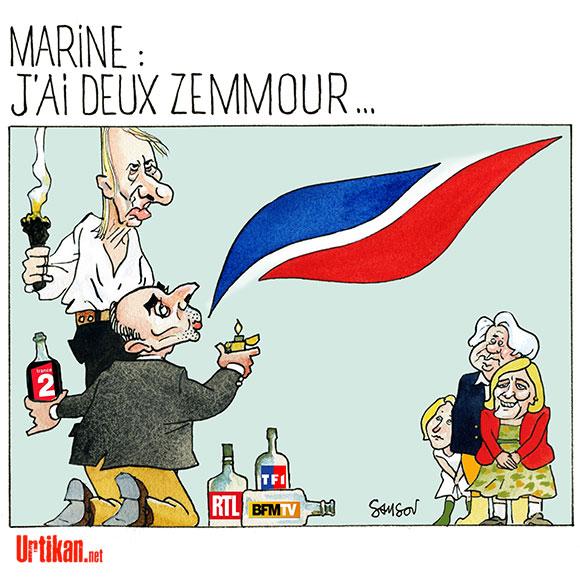 150325-houelbecq-zemmour-marine-2-samson