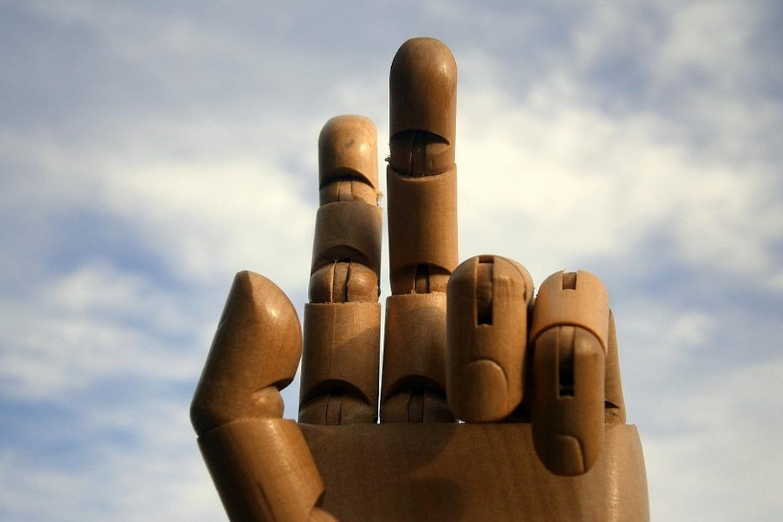 Un doigt ou deux ?