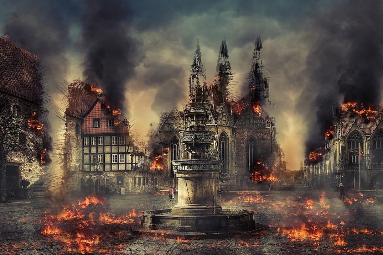 Europe : Eglises Vandalisées…