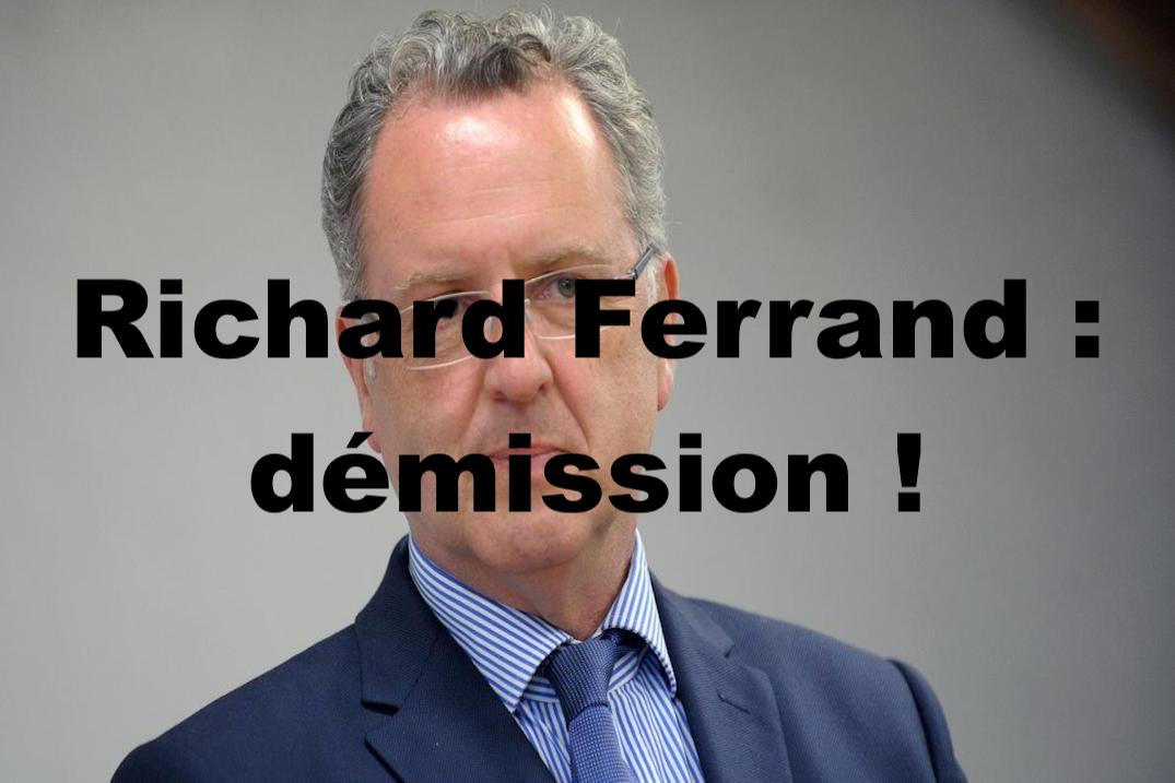 Richard Ferrand : démission !