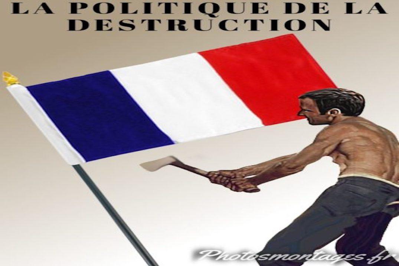 La réalité discrédite Macron