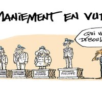 Macron chasse Philippe